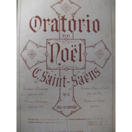 SAINT-SAËNS Camille Oratorio de Noël Chant Piano ca1865