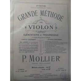 MOLLIER P. Grande Méthode de Violon