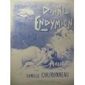 COURONNEAU Camille Diane et Endymion Chant Piano 1897