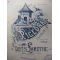 LAMOTHE Georges La Pigeonne Piano 1884