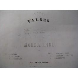 MARCAILHOU G. Le Tourbillon Piano ca1850