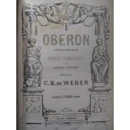 WEBER Obéron Opera ca1860