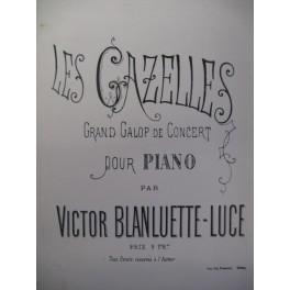 BLANLUETTE-LUCE Victor Les Gazelles Piano