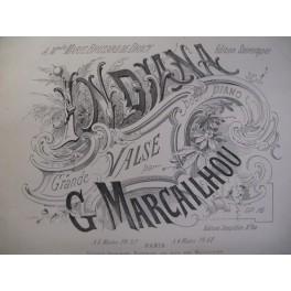 MARCAILHOU G. Indiana Piano XIXe