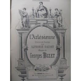 BIZET Georges L'Arlésienne Chant Piano ca1890