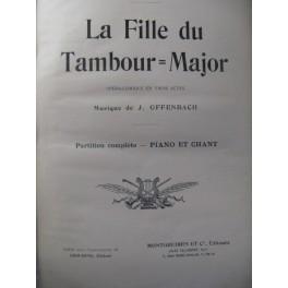 OFFENBACH J. La Fille du Tambour Major Opera XIXe