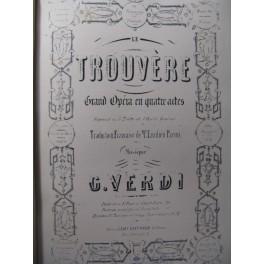 VERDI Giuseppe Le Trouvère Opéra ca1860