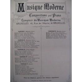 BLAKE Ch. D. Marche aux Flambeaux Piano 1886