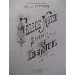 STIEHL Henri Felice Notte Piano 1878
