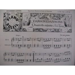 TAYOUX Ben WEBER BEETHOVEN Piano 1893