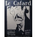 YVAIN Maurice Le Cafard Chant Piano 1921