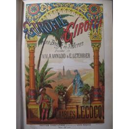LECOCQ Charles Giroflé Girofla Opera 1874