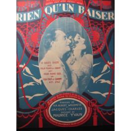 YVAIN Maurice Rien qu'un Baiser Chant Piano 1921