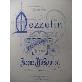 DUSAUTOY Jacques Mezzetin Piano