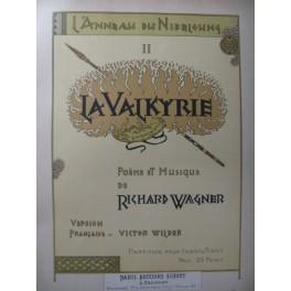 WAGNER Richard La Valkyrie Opéra 1893