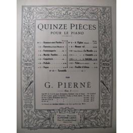 PIERNÉ Gabriel Cache-cache Piano 1886