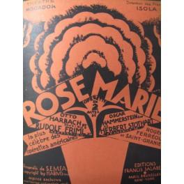 FRIML & STOTHART Rose Marie Opera 1927