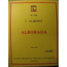 ALBENIZ Isaac Alborada Piano