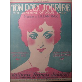 RAY Lilian Ton Doux Sourire Chant Piano ca1820