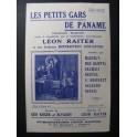 Les Petits Gars de Paname Chanson 1933
