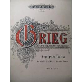 GRIEG Edvard Anitra's Tanz Piano