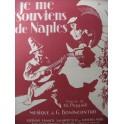BONINCONTRO G. Je me Souviens de Naples Chant Piano 1921