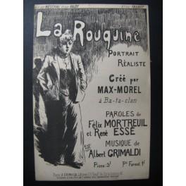 La Rouquine Chanson Albert Grimaldi
