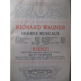 WAGNER Richard Rienzi Opera 1914