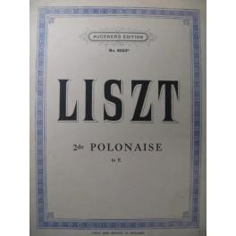 LISZT Franz Polonaise n° 2 Piano