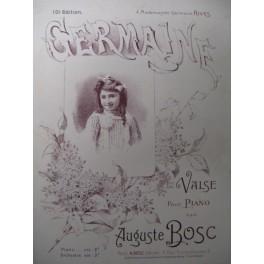 BOSC Auguste Germaine Piano XIXe