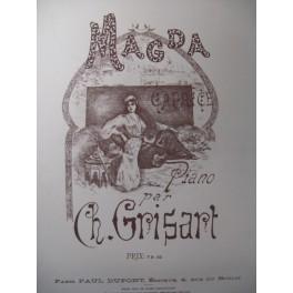 GRISART Ch. Magda Piano XIXe