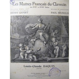 DAQUIN Louis Claude La Tendre Silvie Clavecin