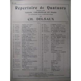 RABAUD Henri La Fille de Roland Trio 1904