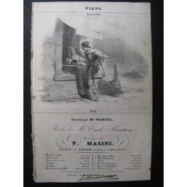 MASINI F. Viens Chant Guitare ca1830