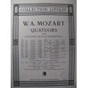 MOZART W. A. Quatuor n° 5 Es dur Violon Alto Violoncelle