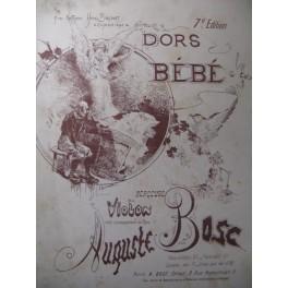 BOSC Auguste Dors Bébé Piano XIXe