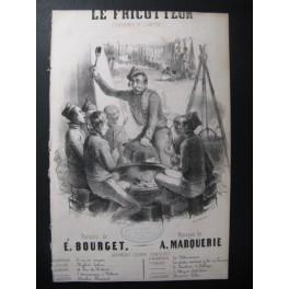 MARQUERIE A. Le Fricotteur Chant Guitare ca1830