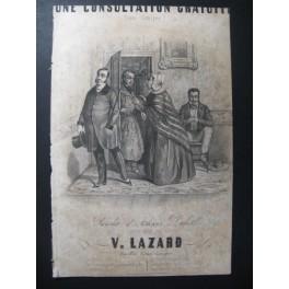 LAZARD V. Une Consultation Gratuite Chant Guitare ca1830