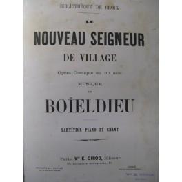 BOIELDIEU Le Nouveau Seigneur de Village Opera ca1890
