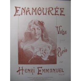 EMMANUEL Henri Enamourée Piano