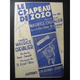 Le Chapeau de Zozo Chanson Maurice Chevalier 1936