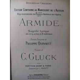 GLUCK C. W. Armide Opera 1905