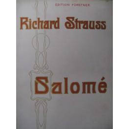 STRAUSS Richard Salomé Opera 1906