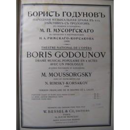MOUSSORGSKY M. Boris Godounov Opera 1911