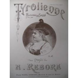 REBORA N. Tyrolienne Piano