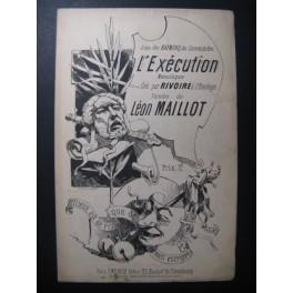 MAILLOT Léon L'Exécution Monologue XIXe