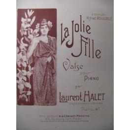 HALET Laurent La Jolie Fille Piano