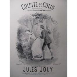 JOUY Jules Colette et Colin Chant Piano XIXe