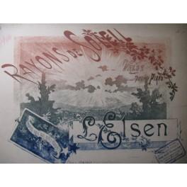 ELSEN L. Rayons de Soleil Piano 1894