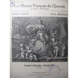 DAQUIN Louis Claude Les Bergères Clavecin